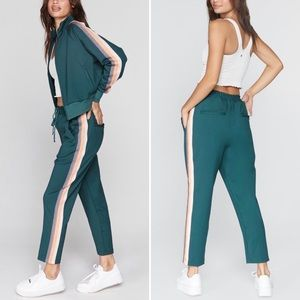 Spiritual Gangster | Classic Jade Track Pants New